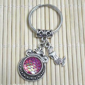***3/$20~Mermaid Charm Keychain***